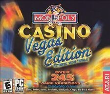 Video Game PC Monopoly Casino Vegas Edition over 245 game variations NEW SEALED