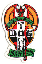 Dogtown Skates Red Dog Skateboard Sticker - old school skateboarding venice sk8