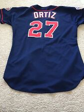 David Ortiz 1997 Game Worn/Used ROOKIE Twins Jersey w 2 LOAs