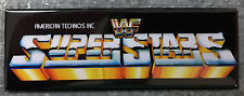 WWF Superstars Arcade Game Marquee Fridge Magnet