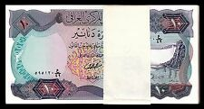 IRAQ 10 DINAR 1973 ½ BUNDLE UNC BUT XF++ aAU PACK OF 50 PCS P.65 LARGE BANKNOTES