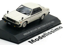 1:43 DISM Nissan Skyline 2000 Turbo GT-E 1980 white with lights