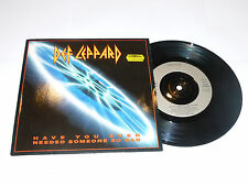"DEF LEPPARD - Have You Ever Needed Someone So Bad? - UK 2-track 7"" Vinyl Single"