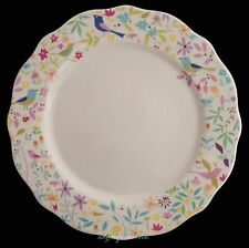 PORTMEIRION FOR JOHN LEWIS SECRET GARDEN DINNER PLATE FLORAL BIRDS