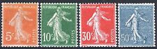 FRANCE ANNEE COMPLETE 1921 YVERT 158/161 , 4 TIMBRES SEMEUSE NEUFS xx LUXE  M891