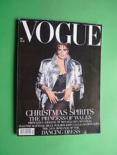 VOGUE UK December 1989 Liza Minnelli PRINCESS Lady DIANA JOEY HEATHERTON MAHARIS