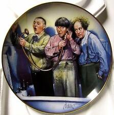 The Three Stooges, 3 Stooges, Rub-a-dub-dub shower bath tub bath plate