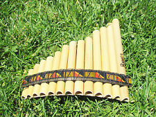 PAN FLUTE SMALL 13 PIPES INCA MOFITS   FROM PERU SEE VIDEO   ITEM IN USA