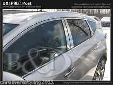 NISSAN MURANO CHROME PILLAR POSTS FITS  2015-2016  8 PIECE SET