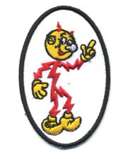 Hot Rod Patch Reddy Kilowatt Badge Drag Race Classic Car Retro Mechanic Jacket
