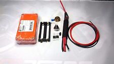 DIY Unregulated Box Mod Kit HAMMOND 2 X MOSFET, ORANGE HAMMOND 1590B ENCLOSURE