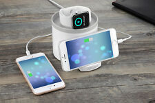 iMobi4 USB Charger Station Cradle Charging Dock Stand for iWatch iPhone-AW02