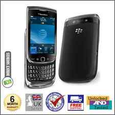 BlackBerry Torch 9800 - 4GB-Negro (Desbloqueado) Teléfono Inteligente (QWERTY)