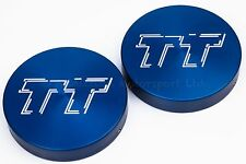 Audi TT Mk1 Suspension Strut Cap Covers Anodised in Blue