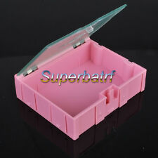 5pcs Big SMT SMD Kit anti-static Laboratory components storage boxes 74*65*21MM