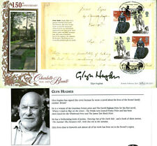 2005 JANE EYRE PANE SIGNED GLYN HUGHES BENHAM FIRST DAY COVER SHS