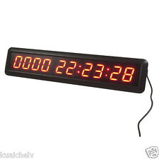 "NEW ARRIVAL! 1.8"" 10 Digits LED Days Countdown Clock Support HRS MINTS SECS"