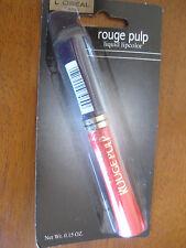 #17 Loreal Rouge Pulp Liquid Lip Colour Heat #17