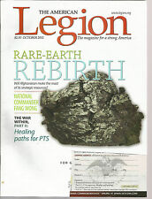The American Legion October 2011 Rare-Earth Rebirth/Healing Paths for PTS/F Wong