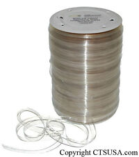 "Clear Elastic Strap Roll for Hanging (3/8"" wide) 150 Yd"