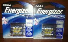 (2) Energizer® Ultimate Lithium AAA Batteries 4-Pack Exp: 12-3036