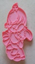 Vintage Precious Moments Girl Holding Stuffed Toy Bunny Cookie Cutter