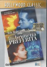 Dvd **LA MIA BRUNETTA PREFERITA** con Bob Hope nuovo 1948