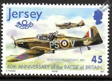 RAF BOULTON PAUL DEFIANT WWII Aircraft Stamp (2000 Jersey)