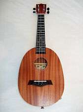 Solid Mhogany Electro acoustic Ukulele Beautiful tone Pineapple shape new boxed
