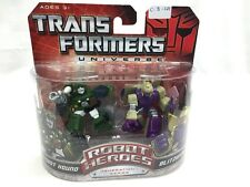 Hasbro Transformers Universe Robot Heroes Gen. 1 Autobot Hound & Blitzwing New
