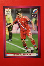 Panini EURO 2012 N. 134 ROSSIJA ARSHAVIN NEW With BLACK BACK TOPMINT!!