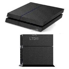 Textured Carbon Fibre Decal Sticker Skin wrap for Sony Playstation PS4 Console
