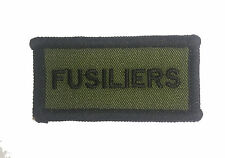 NEW OFFICIAL Royal Regiment of Fusiliers TRF Flash ( Badge Patch