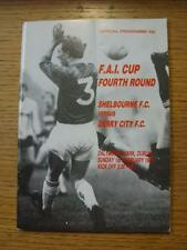 01/02/1987 Shelbourne v Derry City [Republic Of Ireland Cup] (folded)
