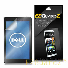 2X EZguardz Screen Protector Shield 2X For Dell Venue 8 Model 3830 (Ultra Clear)