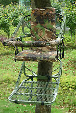 GDK HIGH TREE SEAT, STALKING HIGH SEAT,QUALITY STEEL TREE CHAIR,FOX,DEER GDKTS08