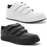 New Mens Casual Velcro Sports Comfortable Low Top Trainers Shoes Size UK 7-11