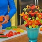 New Durable DIY Fruit Salad Vegetable Cake Carving Model Party Kitchen Accessory