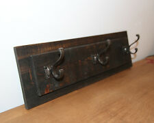 COAT RACK FARMHOUSE RECLAIMED WOODEN RUSTIC COAT HOOK & HAT RACK - HAND MADE