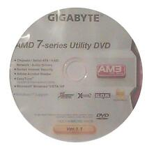 original gigabyte Mainboard Treiber CD DVD GA-MA78LMT-S2H XP 7 Vista Windows ~3