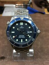 Omega Seamaster James Bond Blue Wave Quartz