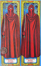 BOOKMARK pair - EMPEROR'S ROYAL GUARD - Matte & Glossy Finish '83 vtg Star Wars