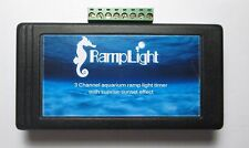 3 Ch automatic aquarium light timer with sunrise-sunset effect for led 12-24V