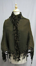 #1724, 1880's Brown Wool Victorian Bustle Coat