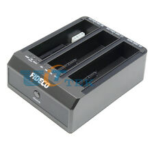 """3Bay Docking Station USB 3.0 To SATA IDE Hard Drive 3.5"""" 2.5inch HDD 3A Adapter"""
