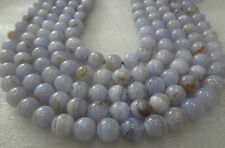 Blue Lace Agate stone MALA 108+1 BEADS 6mm rosary Top Quality