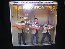 The Kingston Trio The Last Month of the Year G+ G