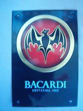 Plaque Publicitere Decorative Bacardi Estd Cuba 1862