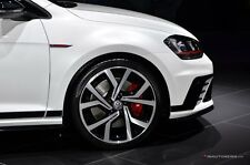 "4X BRAND NEW GENUINE VOLKSWAGEN Brescia CLUBSPORT GOLF GTI 19"" 2016 WHEELS ONLY"