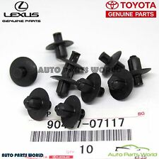 GENUINE TOYOTA LEXUS ENGINE SIDE COVER CLIPS SET 10 X 90467-07117